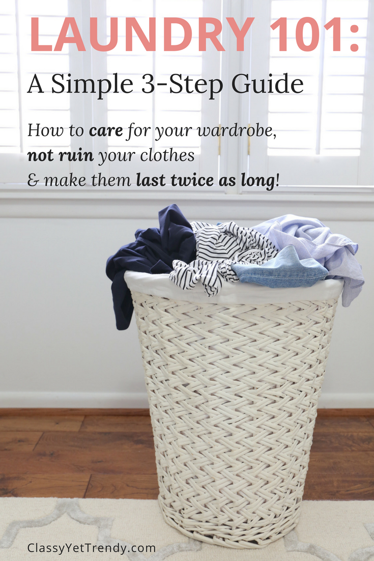 Laundry 101: A Simple 3-Step Guide
