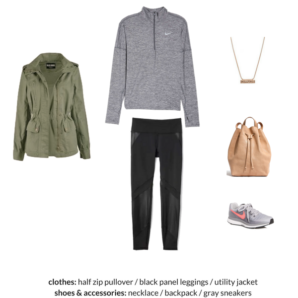 The Athleisure Capsule Wardrobe Spring 2018 - OUTFIT 30