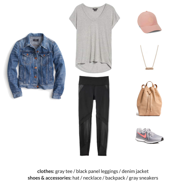 The Athleisure Capsule Wardrobe Spring 2018 - OUTFIT 56