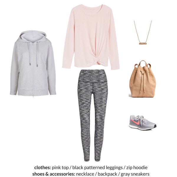 The Athleisure Capsule Wardrobe Spring 2018 - OUTFIT 64