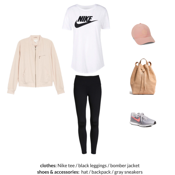 The Athleisure Capsule Wardrobe Spring 2018 - OUTFIT 73