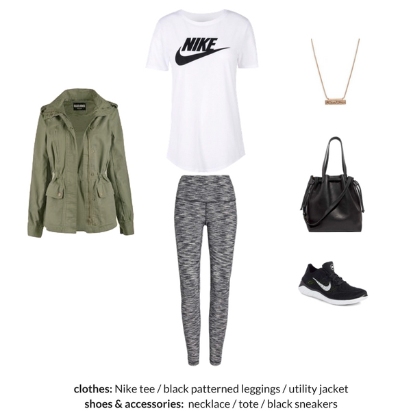 The Athleisure Capsule Wardrobe Spring 2018 - OUTFIT 74