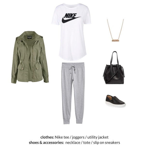The Athleisure Capsule Wardrobe Spring 2018 - OUTFIT 77