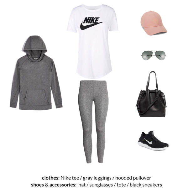The Athleisure Capsule Wardrobe Spring 2018 - OUTFIT 81