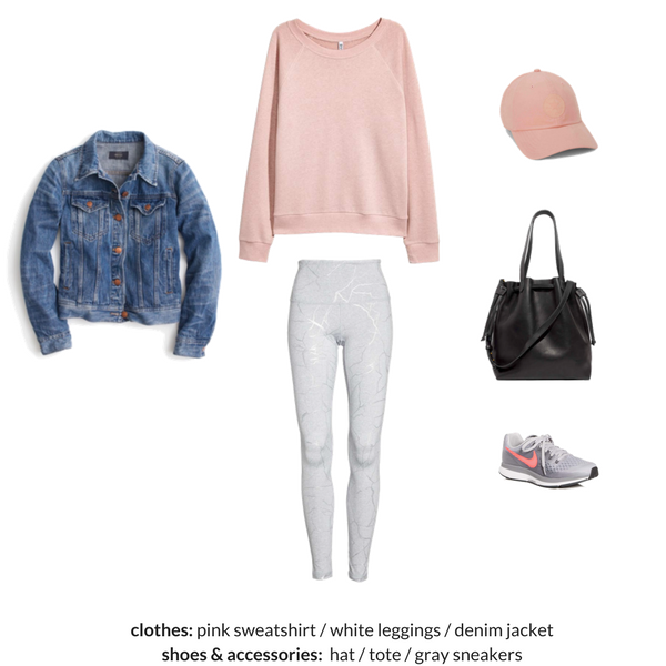 The Athleisure Capsule Wardrobe Spring 2018 - OUTFIT 91