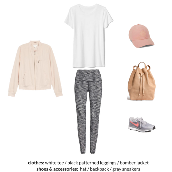 The Athleisure Capsule Wardrobe Spring 2018 - OUTFIT 93
