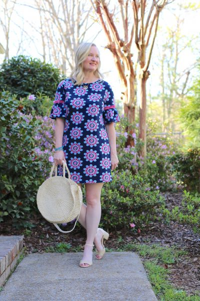 Favorite Spring Dresses and Straw Bags (Trendy Wednesday #161)