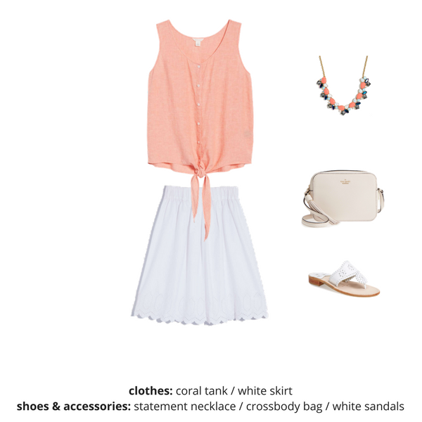 The Essential Capsule Wardrobe - Summer 2018 - OUTFIT 26