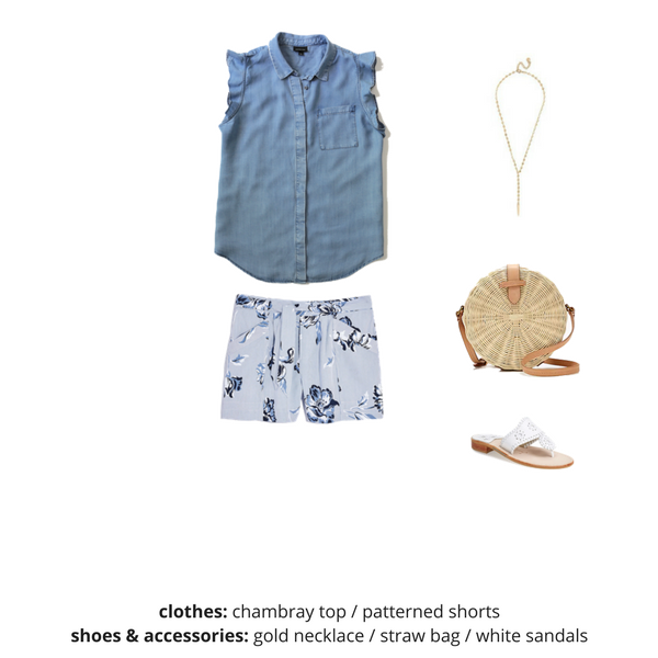 The Essential Capsule Wardrobe - Summer 2018 - OUTFIT 68