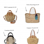 NEW Straw Bags Under $35