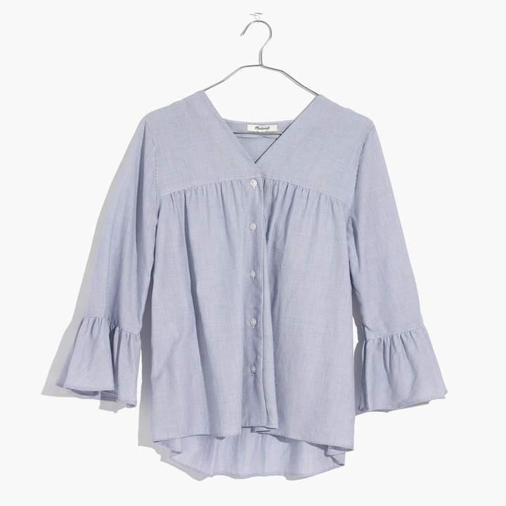 Spring 2018 10x10 Challenge - Bell Sleeve Stripe Shirt