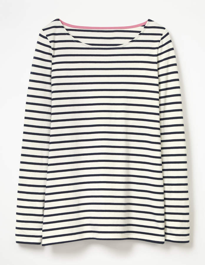 Spring 2018 10x10 Challenge - Long Sleeve Striped Tee
