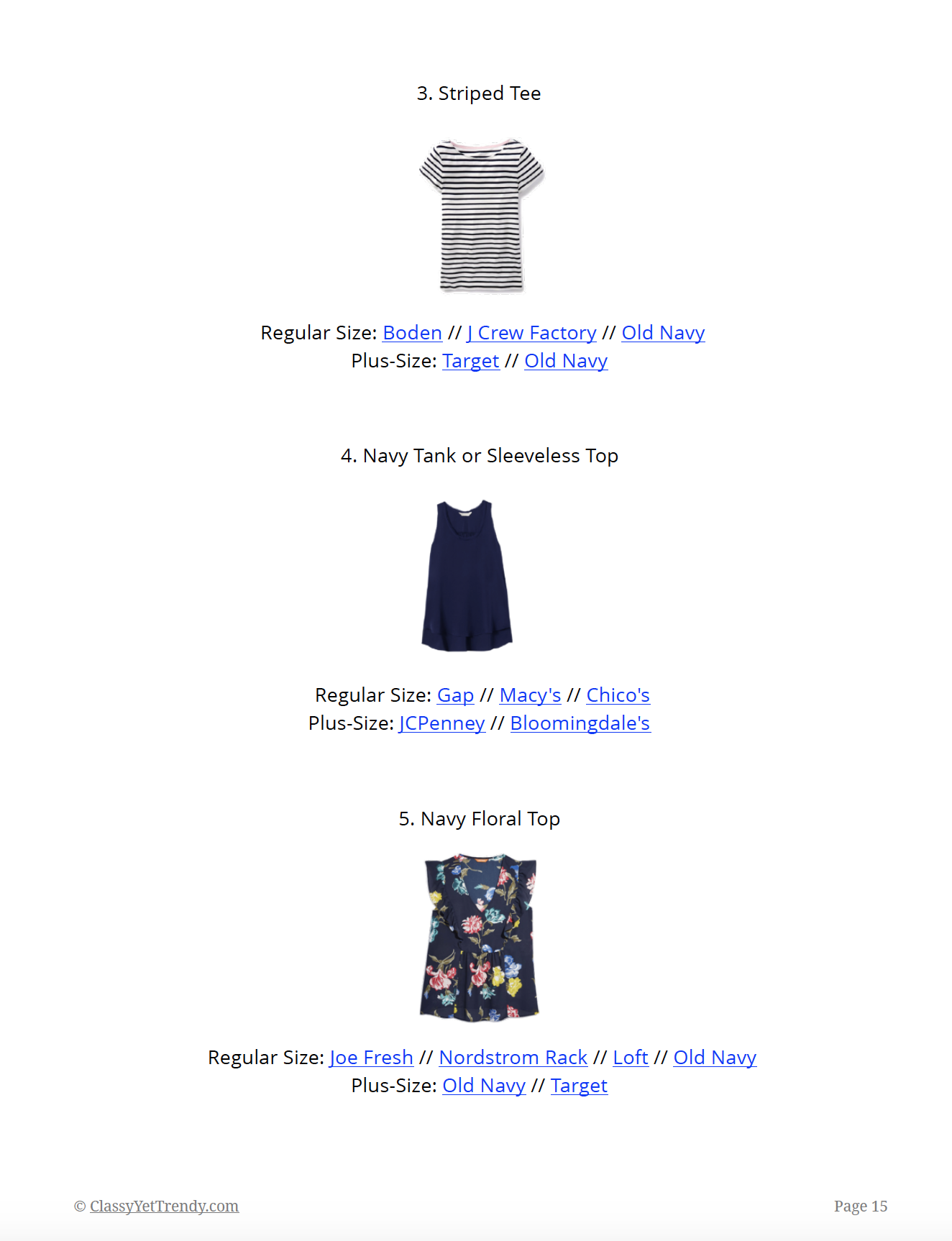 The Essential Capsule Wardrobe - Summer 2018 - page 15