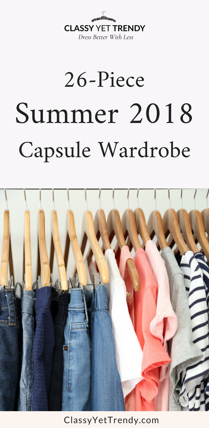 My 26-Piece Summer 2018 Capsule Wardrobe