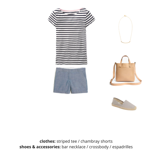 The French Minimalist Capsule Wardrobe - Summer 2018 - OUTFIT 2