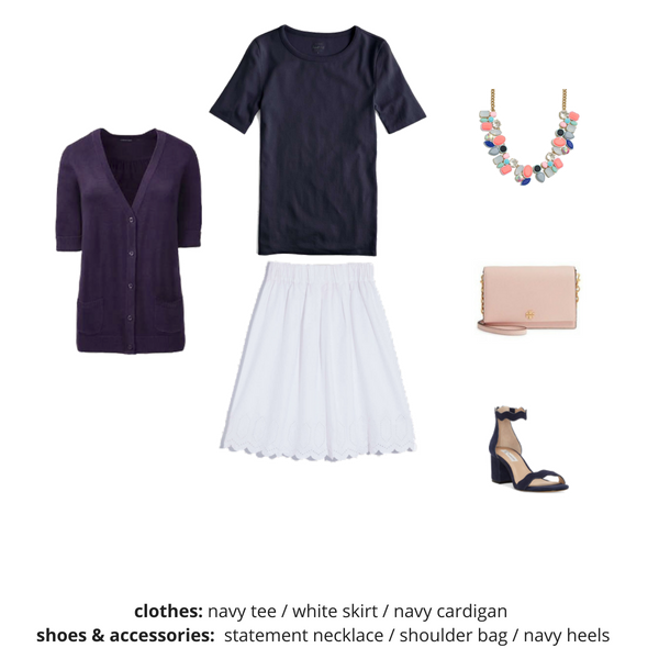 The Workwear Capsule Wardrobe - Summer OUTFIT 33