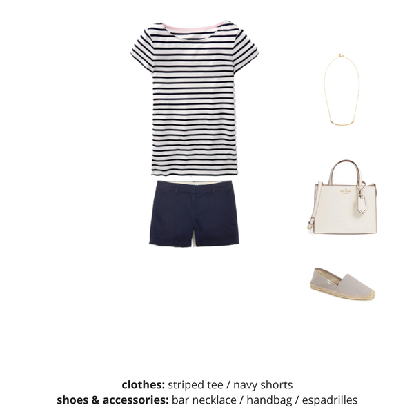 The French Minimalist Capsule Wardrobe - Summer 2018 - OUTFIT 4