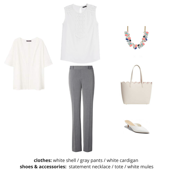 The Workwear Capsule Wardrobe - Summer OUTFIT 56