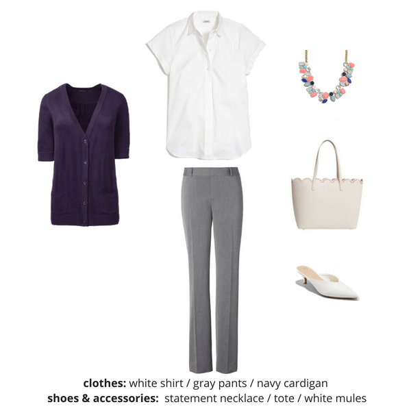 The Workwear Capsule Wardrobe - Summer OUTFIT 65