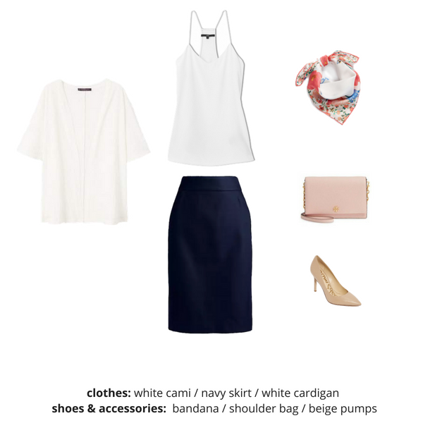 The Workwear Capsule Wardrobe - Summer OUTFIT 94