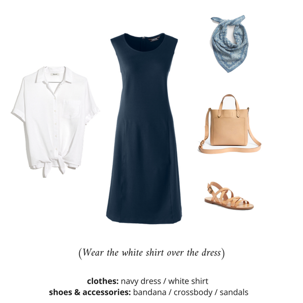 The French Minimalist Capsule Wardrobe - Summer 2018 - OUTFIT 98