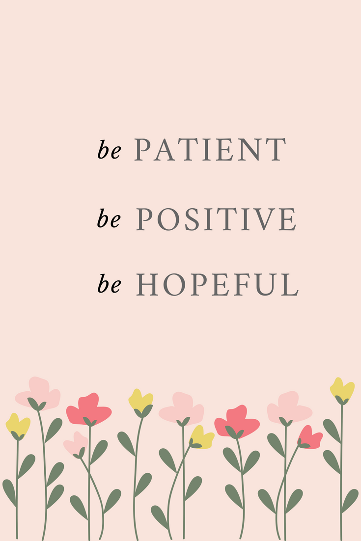 Patient-Positive-Hopeful Poster