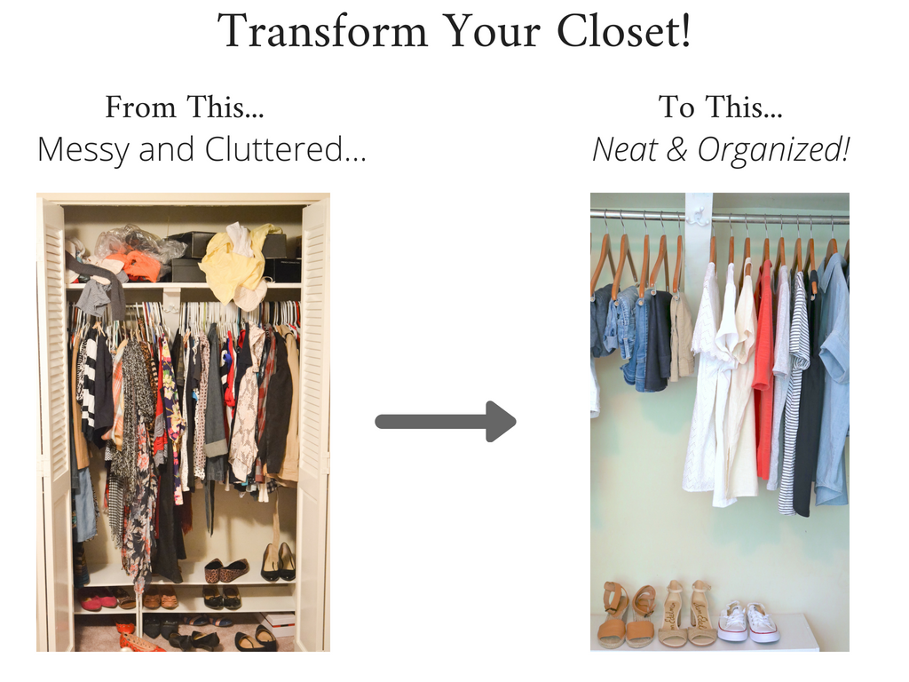 Transform Your Closet - Stay At Home Mom Summer 2018