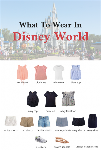 What To Wear In Disney World and Universal Studios