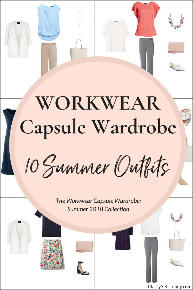 Create a Workwear Capsule Wardrobe: 10 Summer Outfits