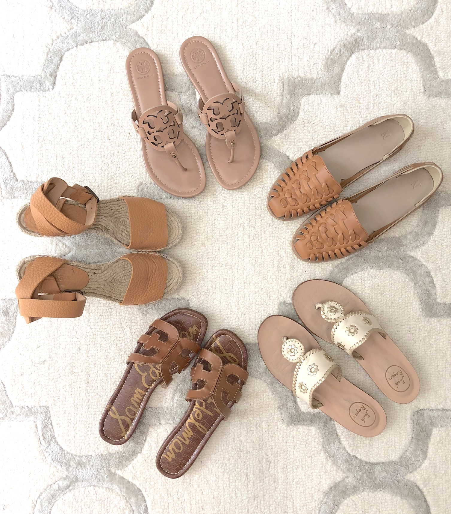 My Favorite Summer Shoes - All 5 Pairs of Sandals