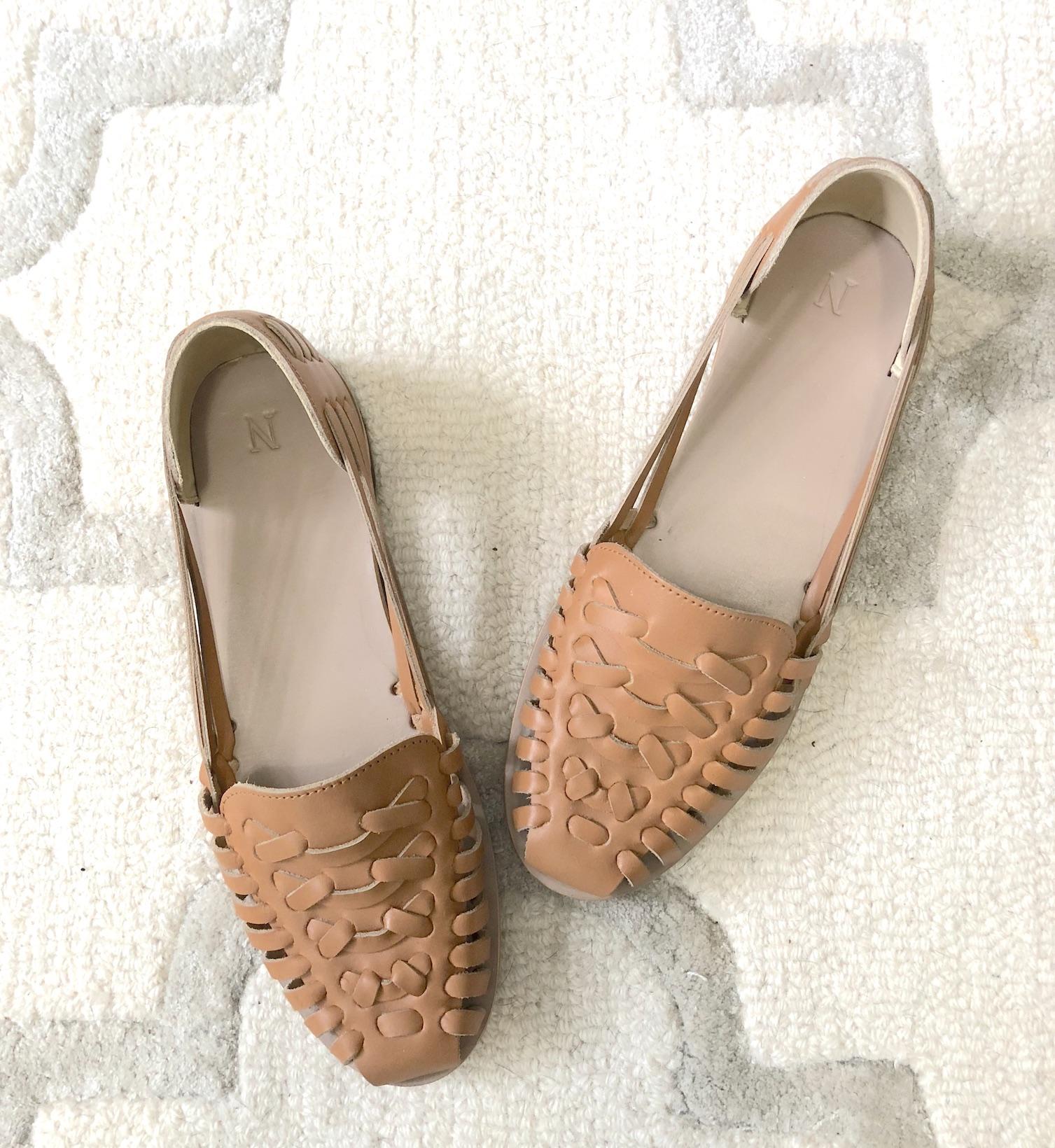 My Favorite Summer Shoes - Nisolo Ecuador Huarache Sandal