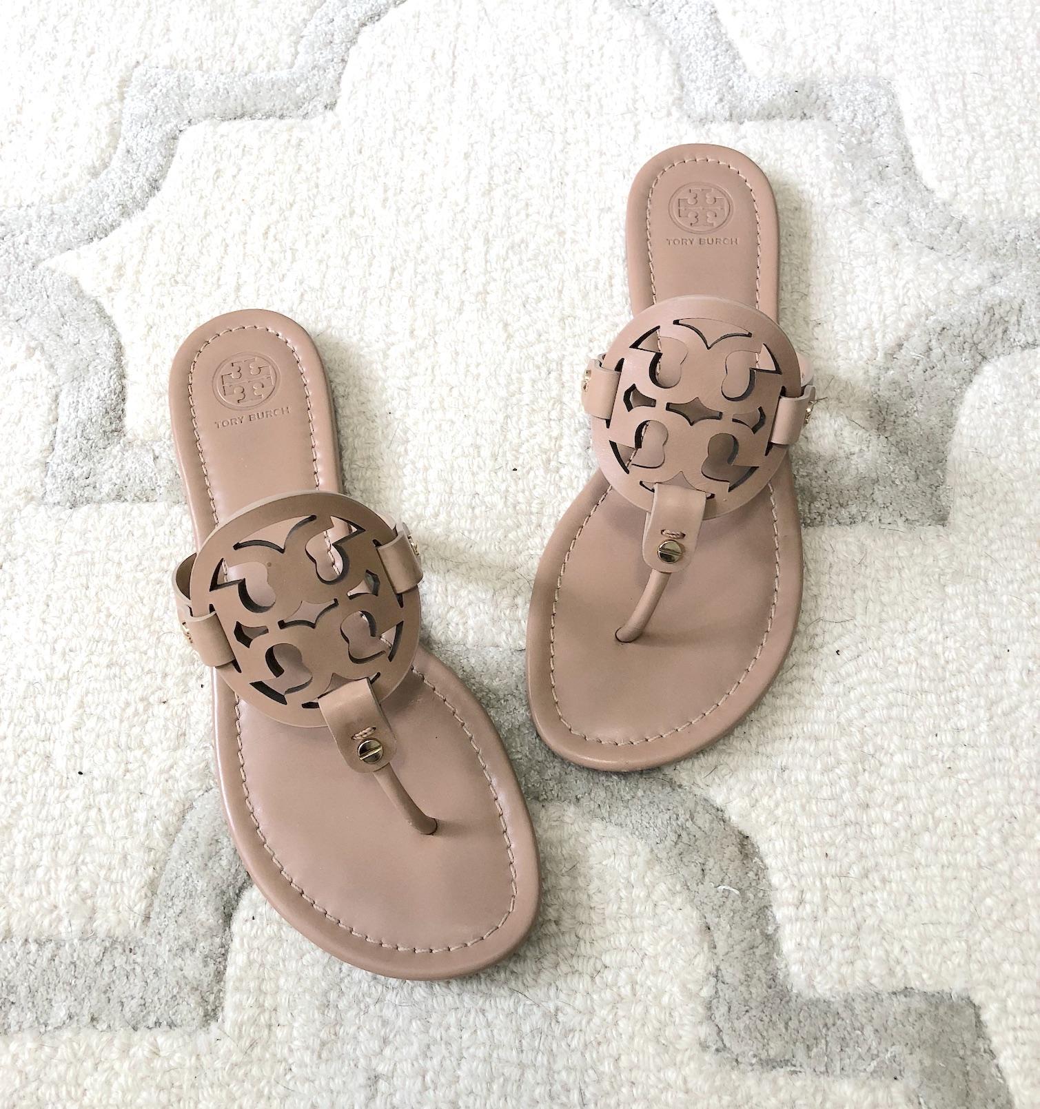 My Favorite Summer Shoes - Tory Burch Miller Sandals