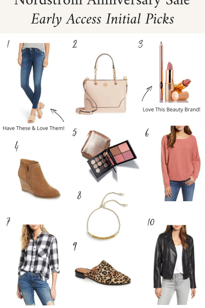 Nordstrom Anniversary Sale Early Access Initial Picks