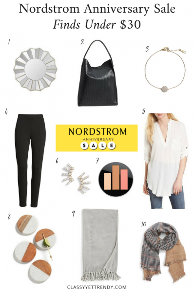 Nordstrom Anniversary Sale Finds Under $30-