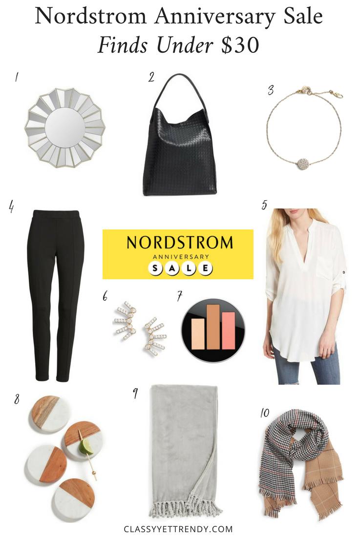 Nordstrom Anniversary Sale Finds Under $30-
