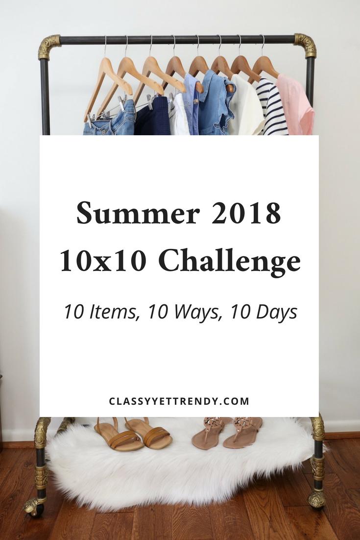 Summer 2018 10×10 Challenge
