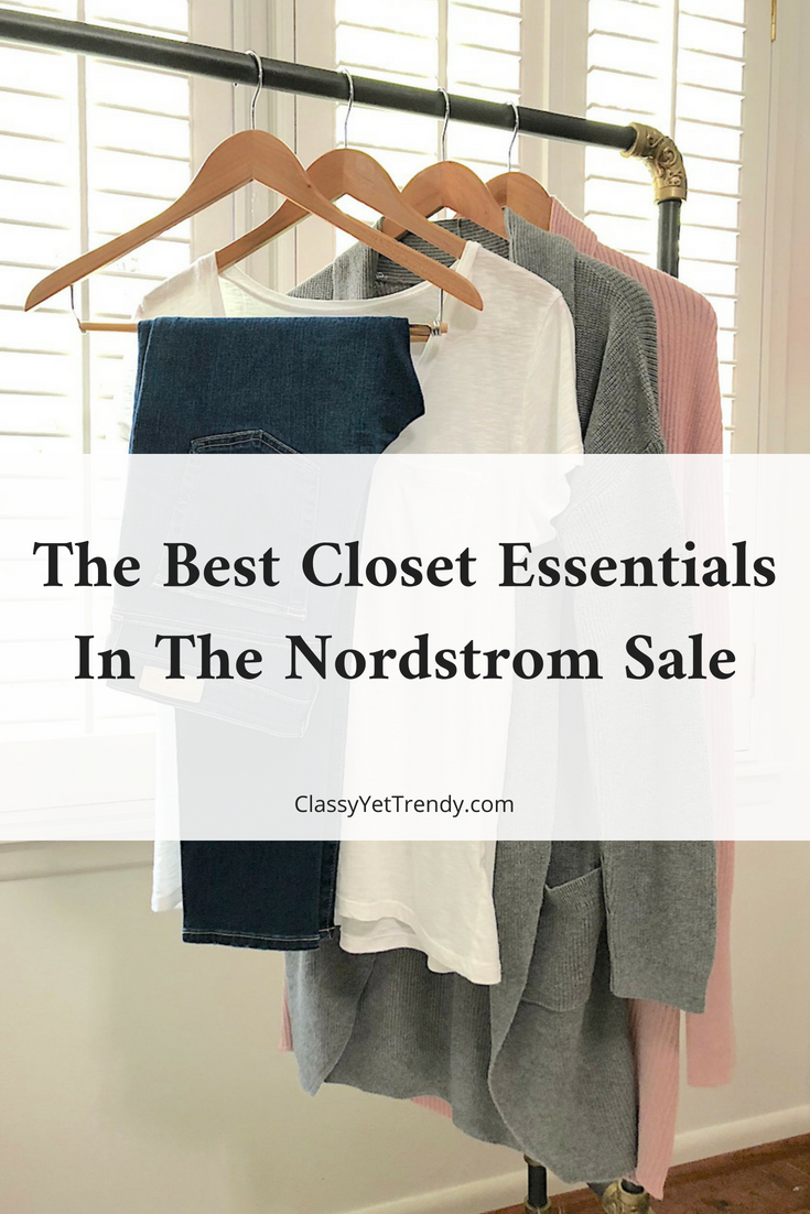 The Best Closet Essentials In The Nordstrom Sale Classy Yet Trendy