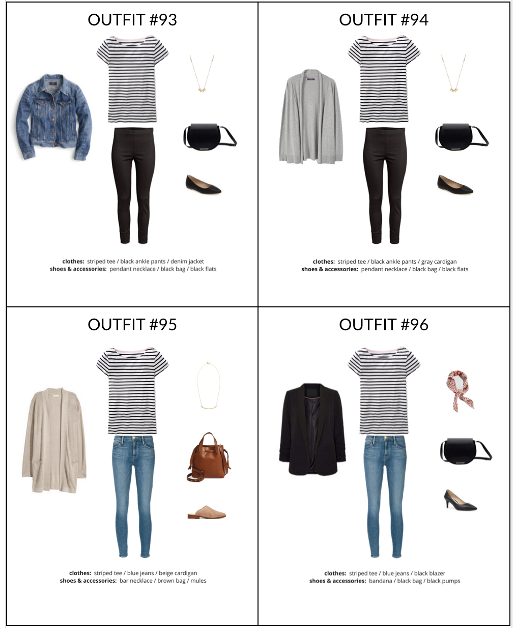 Simplified Style - A Year-Round Capsule Wardrobe - sample page 2
