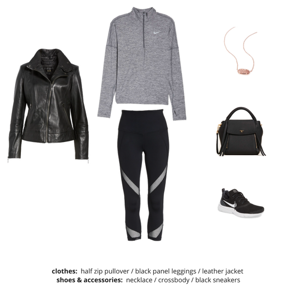Athleisure Capsule Wardrobe Fall 2018 - Outfit 18