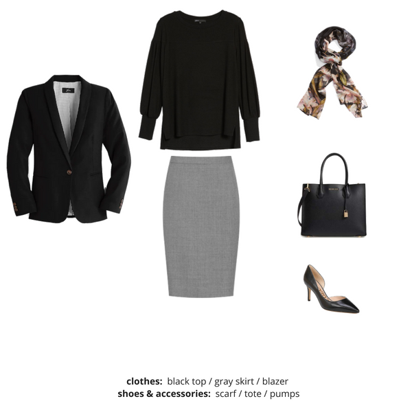 Workwear Capsule Wardrobe Fall 2018 - Outfit 22