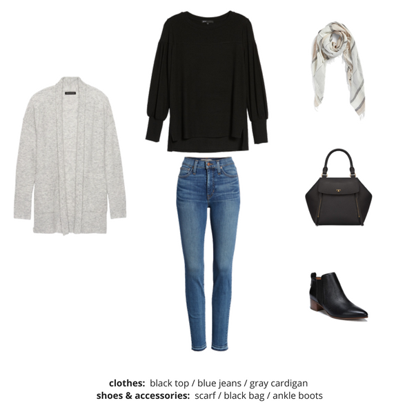 French Minimalist Capsule Wardrobe Fall 2018 - Outfit 22