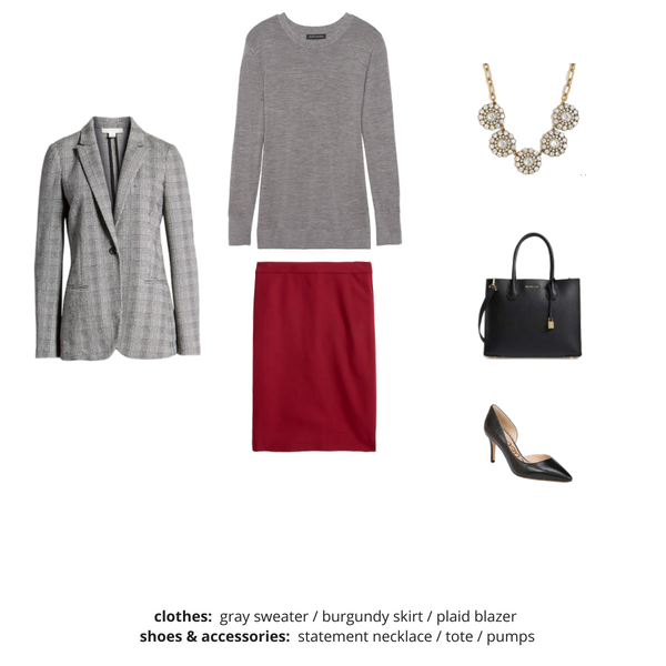 Workwear Capsule Wardrobe Fall 2018 - Outfit 30