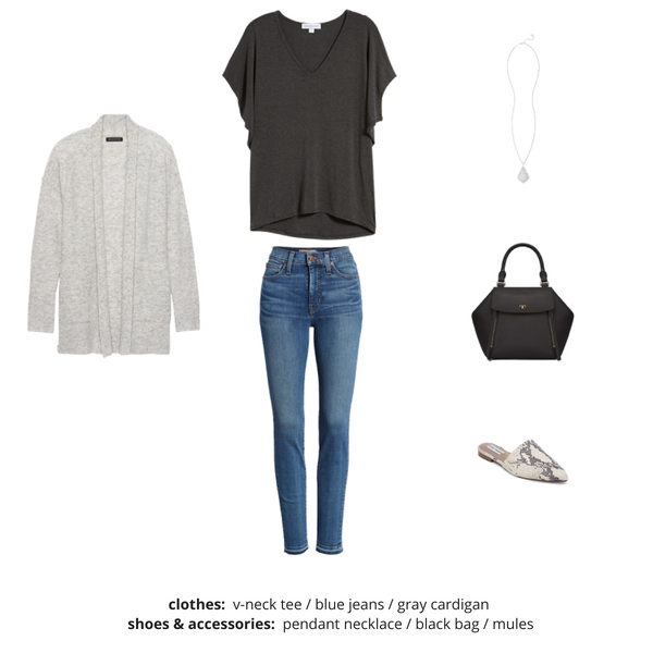French Minimalist Capsule Wardrobe Fall 2018 - Outfit 34