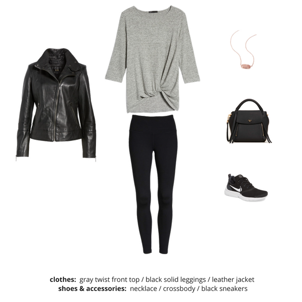 Athleisure Capsule Wardrobe Fall 2018 - Outfit 39