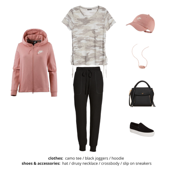 Athleisure Capsule Wardrobe Fall 2018 - Outfit 4