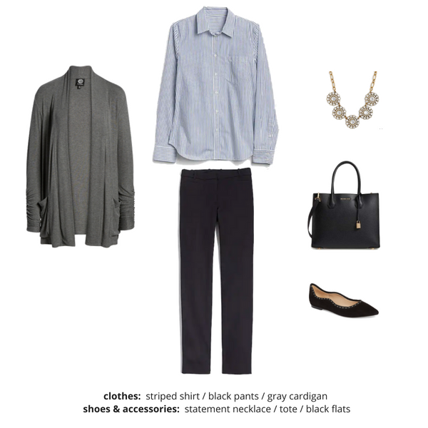 Workwear Fall 2018 Capsule Wardrobe - Outfit 4