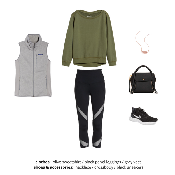 Athleisure Capsule Wardrobe Fall 2018 - Outfit 48