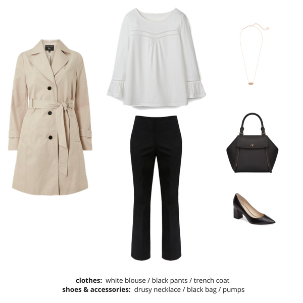 French Minimalist Capsule Wardrobe Fall 2018 - Outfit 5