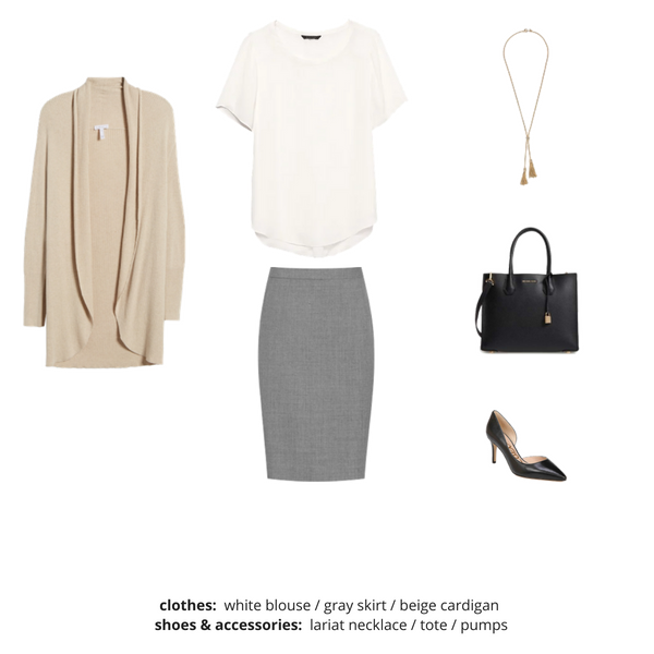 Workwear Capsule Wardrobe Fall 2018 - Outfit 55