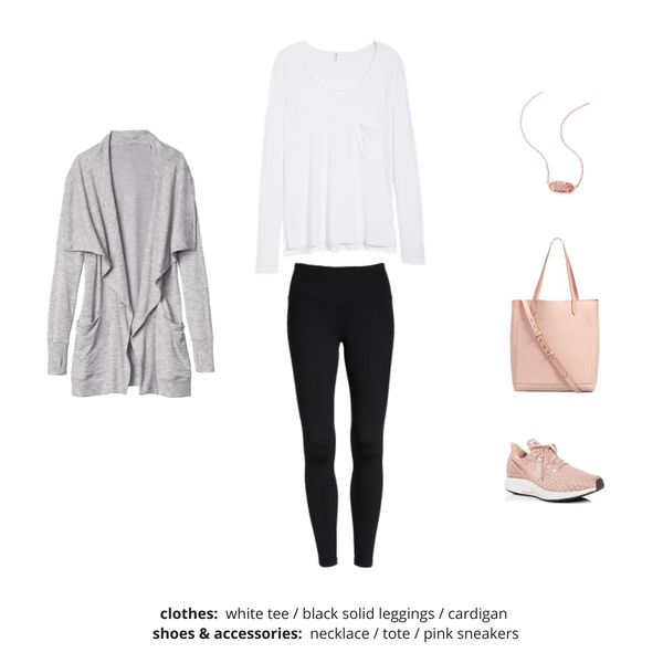 Athleisure Capsule Wardrobe Fall 2018 - Outfit 57